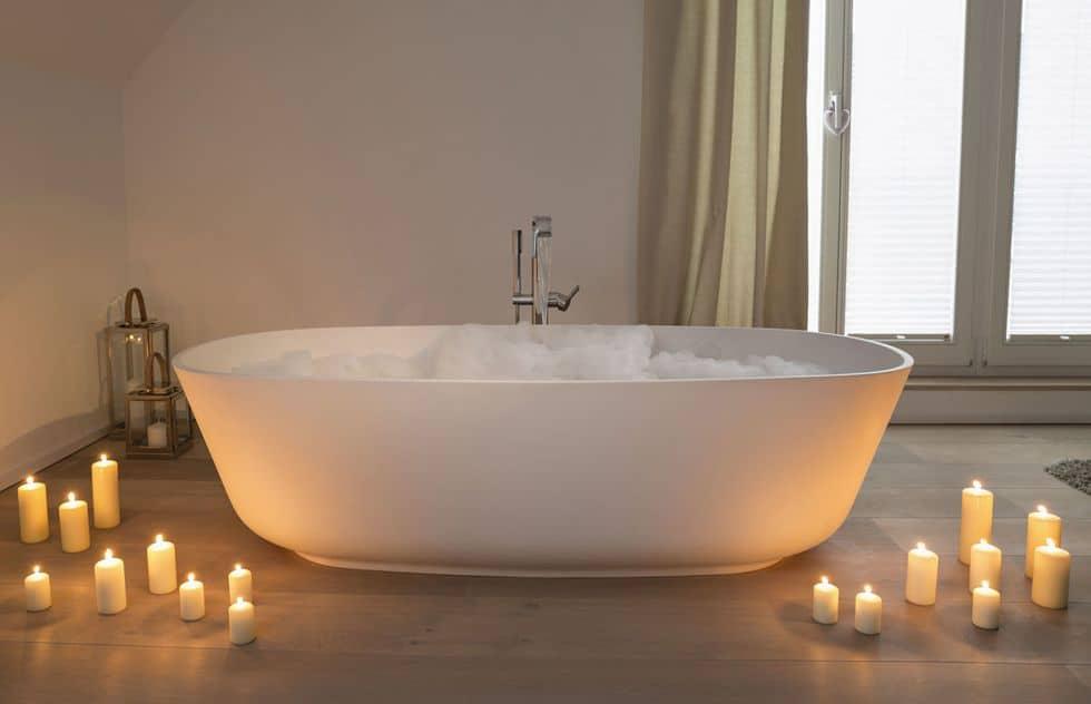 5. Take a bath